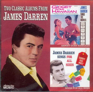 Album Cover of Darren, James - Gidget Goes Hawaiian & James Darren Sings For All Sizes (2on1 CD)