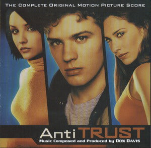 Album Cover of Davis, Don - AntiTrust (Original Motion Picture Score CD)
