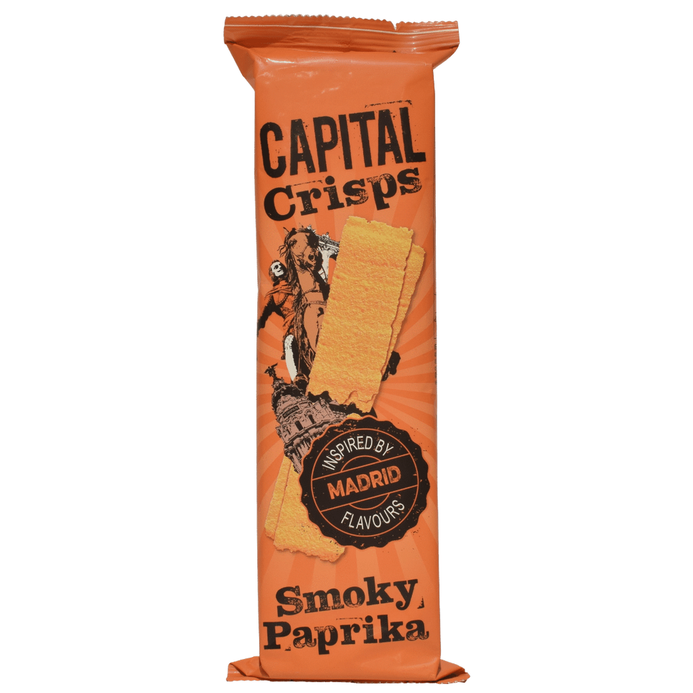 Capital Crisps Madrid Smokey Paprika