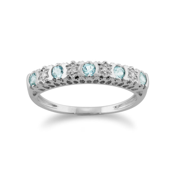 Diamond Twist Ring Image 1