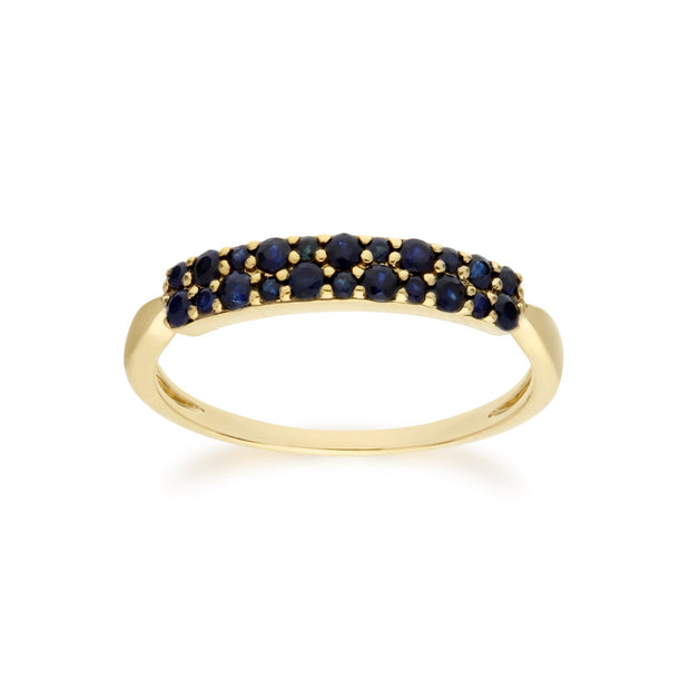 Sapphire Pave Ring Image 1