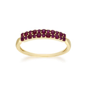 Ruby Pave Ring Image 1