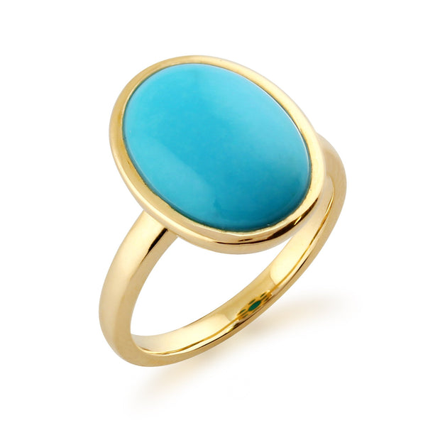 Turquoise Statement Ring Image 2