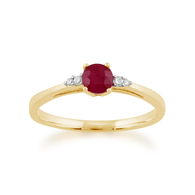 Ruby and Diamond Ring Image 1