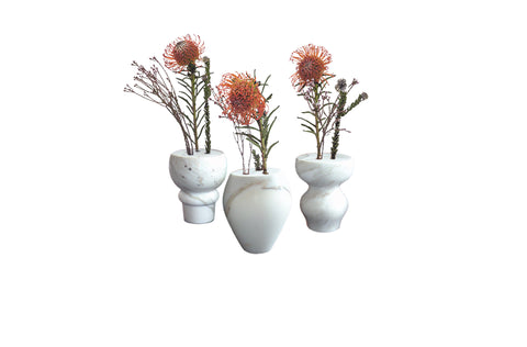 The Spindle Vases