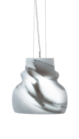 The Wentworth - marble pendant