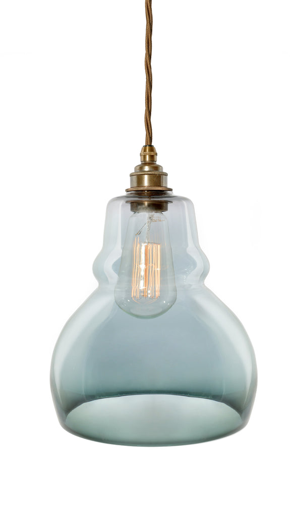 The Wentworth - hand-blown glass pendant