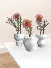 The Spindle Vases - set of three!