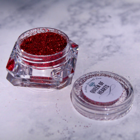 Queen of Hearts Loose Ultra Glitter