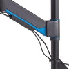 Kensington Smart Fit Sit Stand Workstation Cable Management