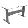 Heavy Duty Conset Standing Desk 501-11 White 1600x800mm Top