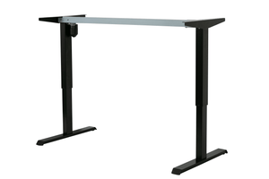 Conset 501-33 Standing Desk Frame Black