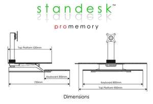 Standesk Pro Memory