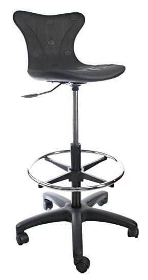 Ergonomic Drafting Chair with footrest