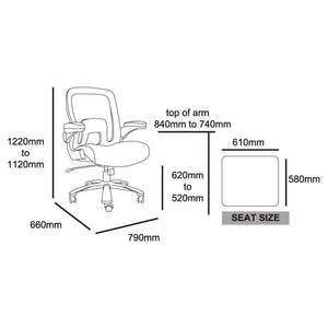 Boeing Mesh Bariatric Chair