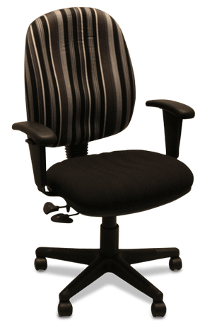 Clancy Ergonomic Chair with Arms - Special Order Fabric