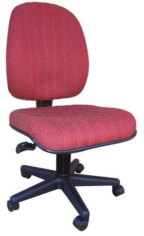Baxter Ergonomic Chair in Red - Special Order Colour