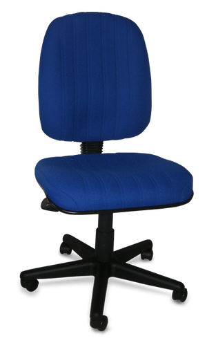 Baxter Ergonomic Chair in Royal Blue - Special Order Colour