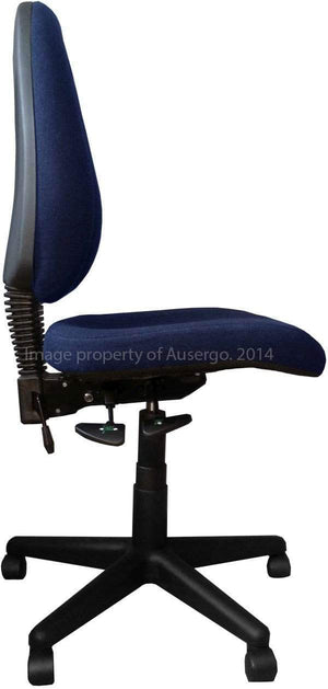 Baxter Ergonomic Chair Stocked in Navy Blue
