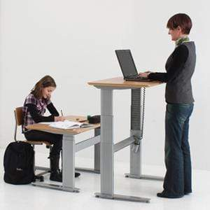Conset 501-27 Sit/Stand Desk