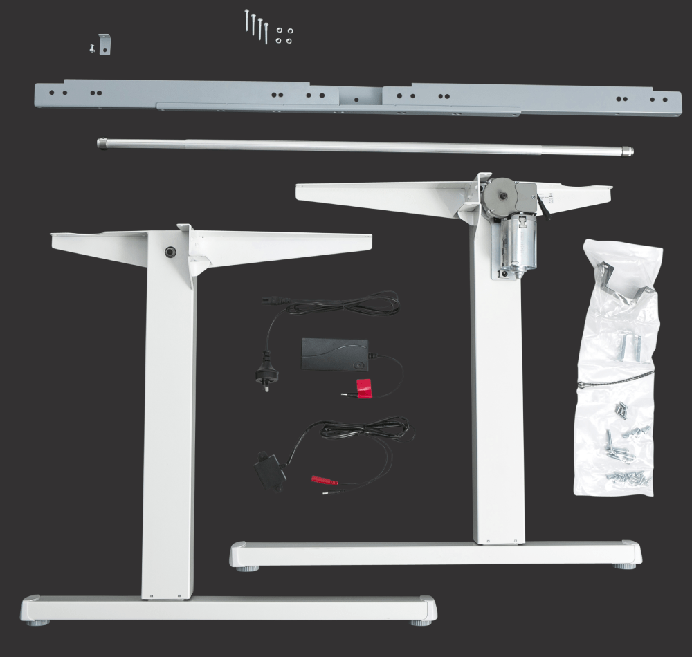 Squareline DIY Sit Stand Desk Frame Kit