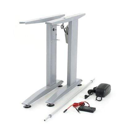 Sit Stand Desk Frame Kit Silver