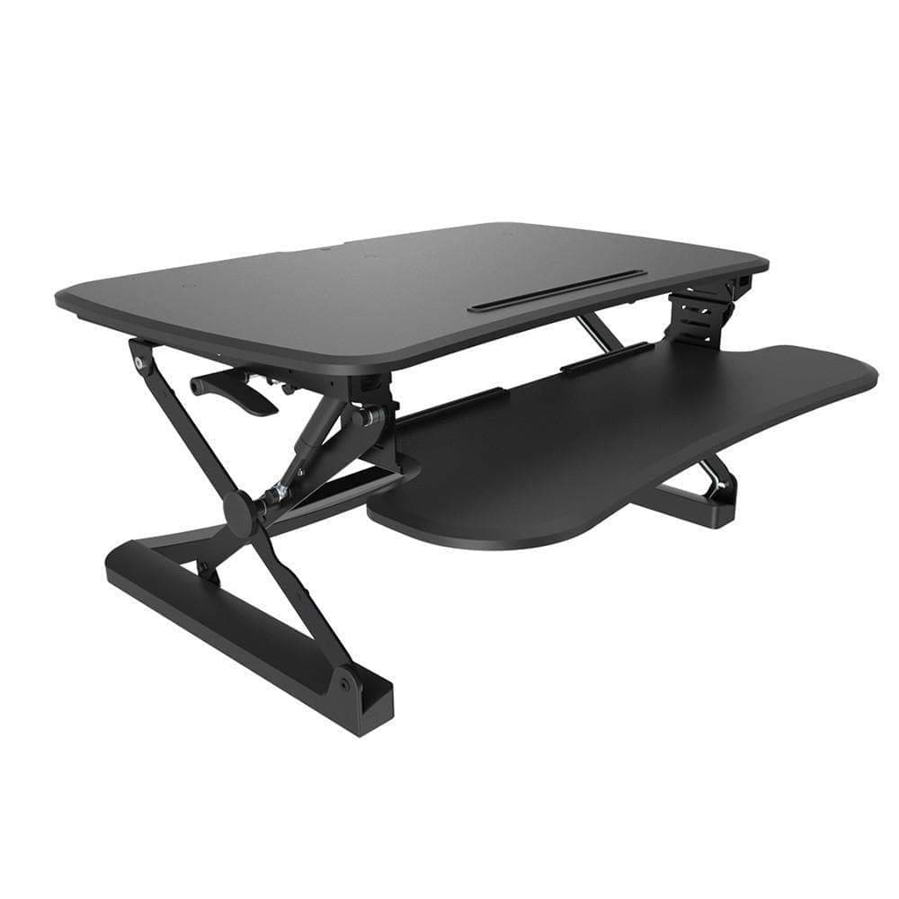 Ausergo Sit Stand Desks Small / Black Arise Deskalator height-adjustable-standing-desk