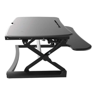 Ausergo Sit Stand Desks Small / White Arise Deskalator height-adjustable-standing-desk