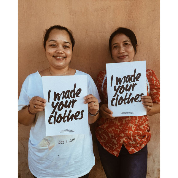 Fashion Revolution - #WHOMADEMYCLOTHES