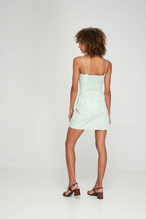 PRE-ORDER CAMILA DRESS - SPEARMINT