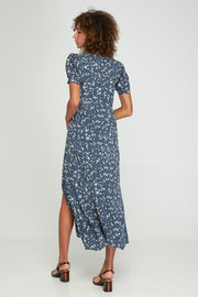 MAYA SPLIT DRESS - MARIANNE FLORAL