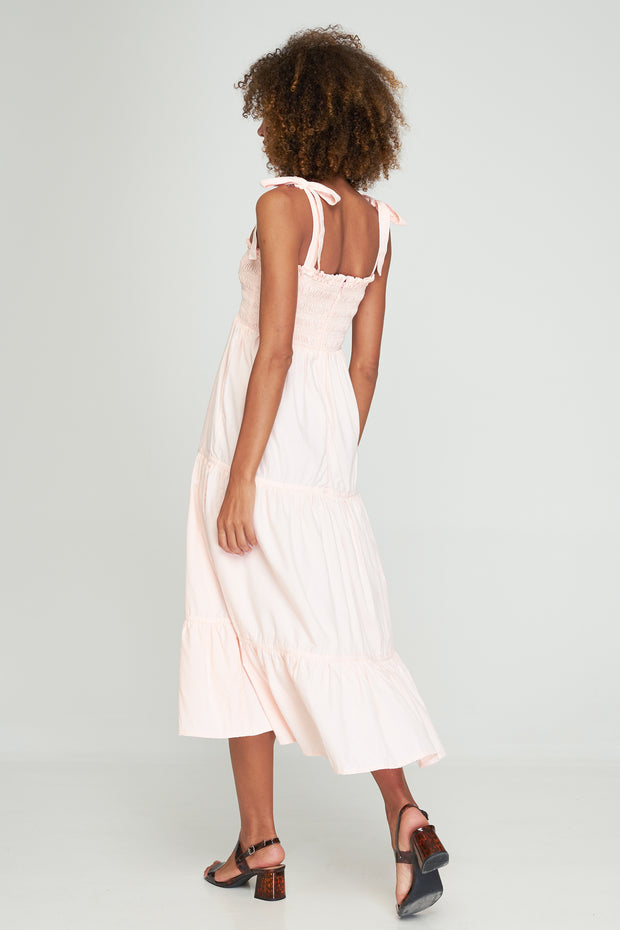 NORAH MAXI DRESS - LIGHT PINK