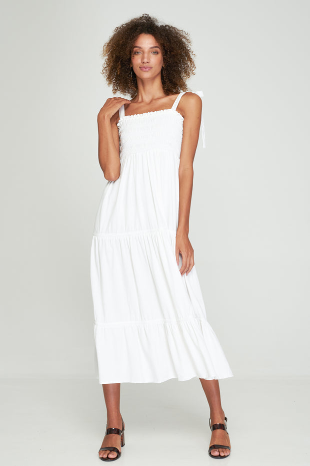 NORAH MAXI DRESS - WHITE