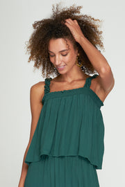 MILA TOP - BASIL