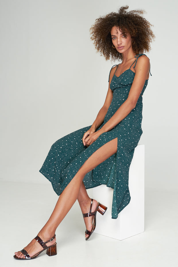 Lucy Maxi Dress - PIECE OF MY HEART - BASIL