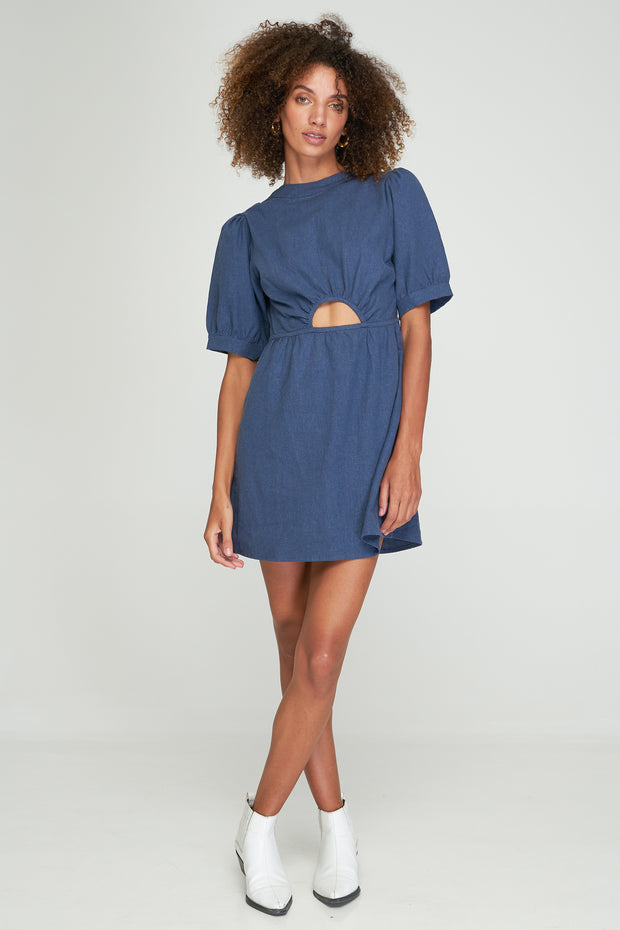 FAITH DRESS - COASTAL BLUE