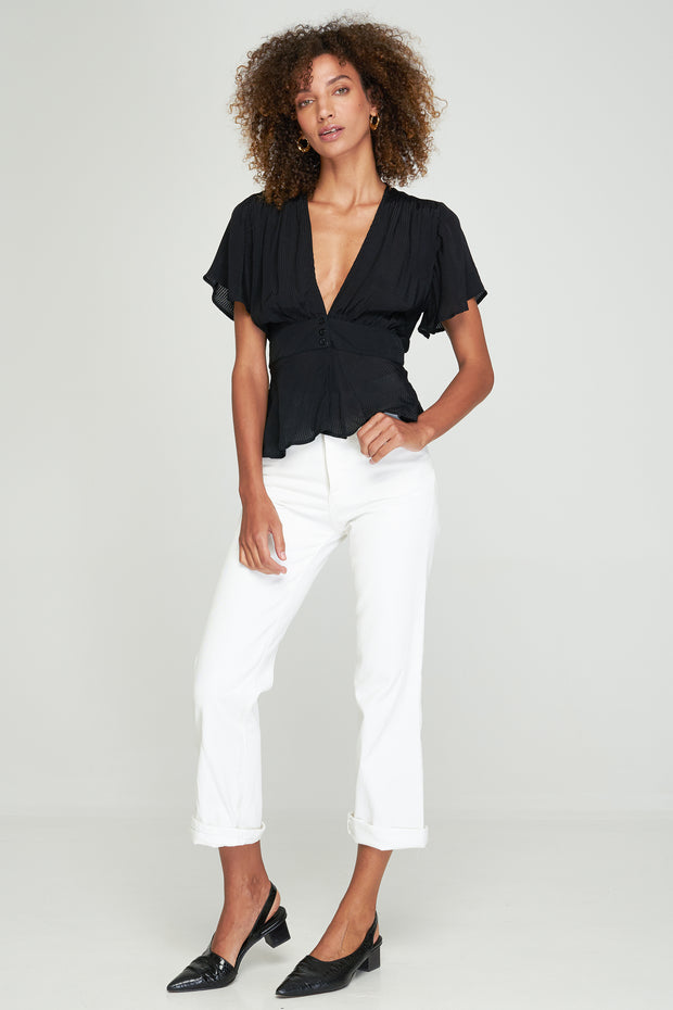 MADELYN TOP - BLACK