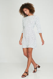 Natalie Mini Dress - Piece of My Heart - White