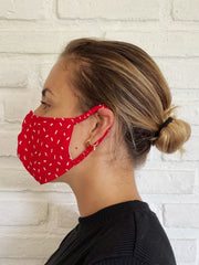 Gala Hibiscus Viscose Mask Casing