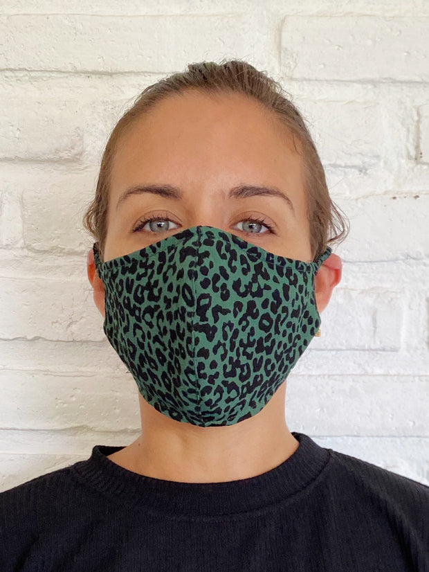 Green Nala Viscose Mask Casing