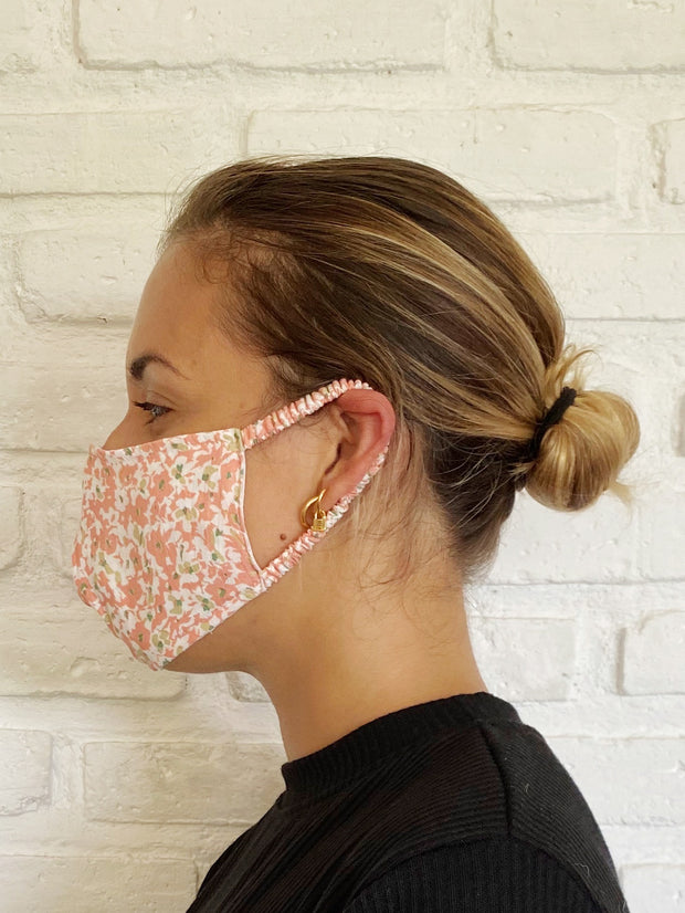 Pink Musee Floral Mask Casing