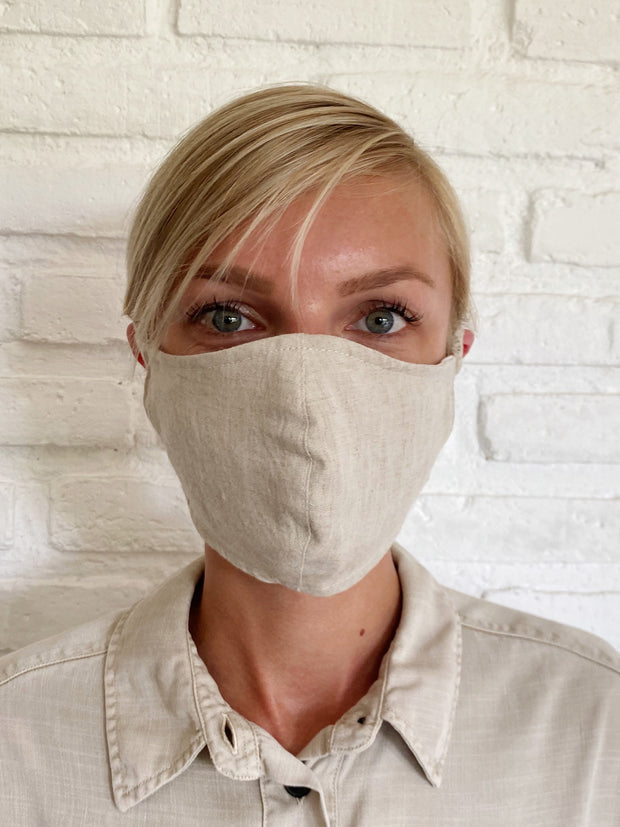 Natural Linen Mask Casing