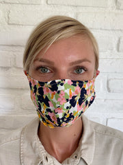 Light Monet Floral Viscose Mask Casing