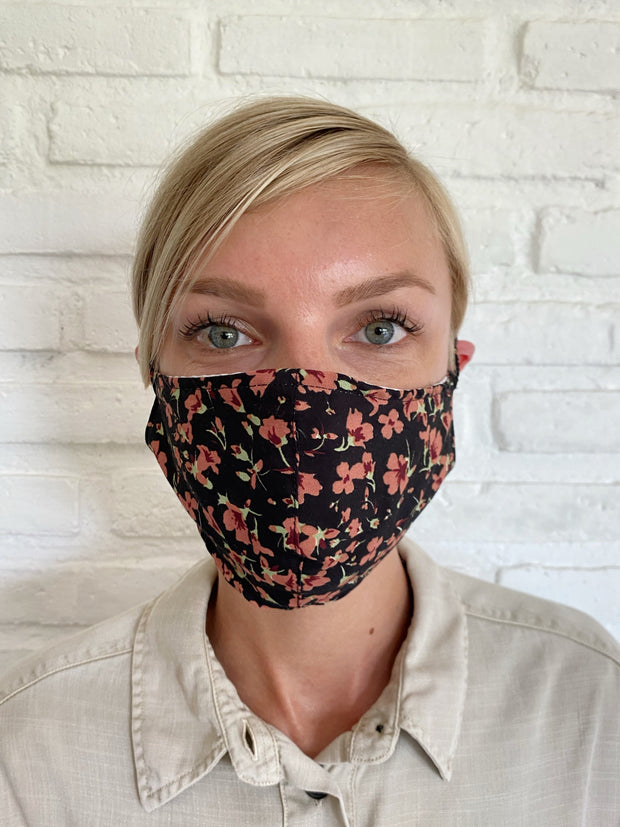 Canyon Clay Desert Floral Viscose Mask Casing