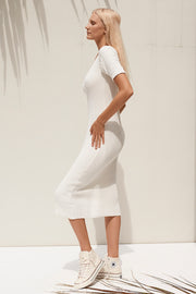 Mavis Dress - White