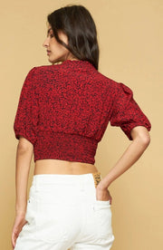 SUZETTE BLOUSE - CUPID - RED
