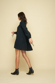 BAYLIN DRESS - BLACK