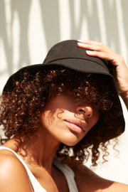 Pre Order - Small Bucket Hat - Black