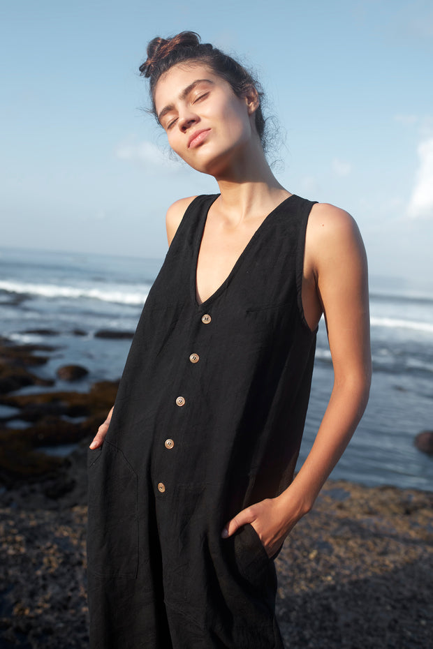 HAMMOND JUMPSUIT - BLACK