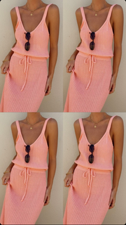 AILA TOP - PEACH